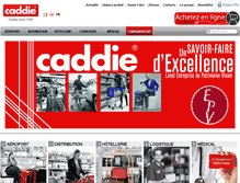 Tablet Preview of caddie.fr